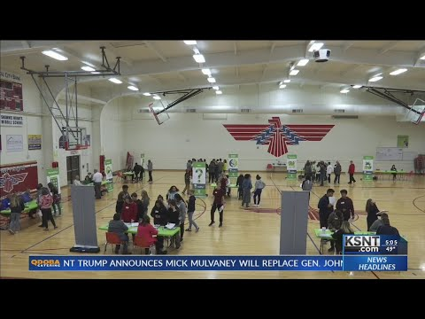Shawnee Heights Middle School holds career day