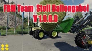 "[""Stoll Ballengabel"", ""FS 19 Mod Vorstellung Farming Simulator : [FBM Team] Stoll Ballengabel""]"