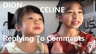 Friends Cover Song Video - Thanks Fans Comments by Celine Tam 譚芷昀 and Dion Tam