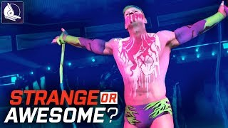 WWE 2K18 - Strange or Awesome? (10 Community Creations you can download) #2
