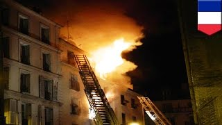 Paris fire: Massive blaze in central Paris apartment building kills at least eight - TomoNews