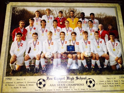 Fox Chapel Soccer State Champs '90