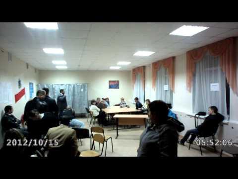Побег председателя, 14.10.2012, Саратов, УИК №318