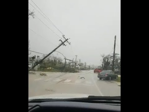 Super Typhoon Yutu aftermath in Saipan, Northern Mariana Islands ( Oct 25, 2018)