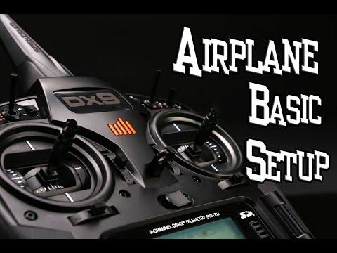 DX9 How To Airplane Basic Setup
