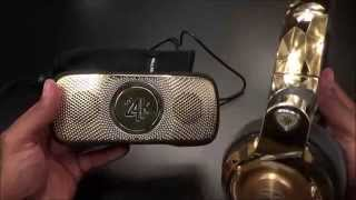 Monster 24K Backfloat - Floating Wireless Speaker and Speakerphone