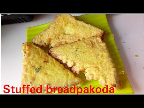 Bread Pakora Recipe-Quick bread fritters-Easy and quick Indian Recipe