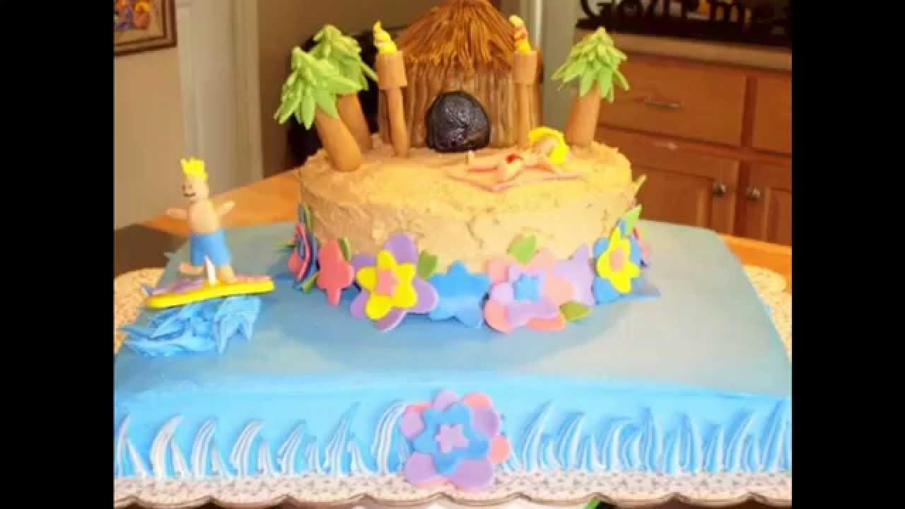 Best Summer cake decorating ideas YouTube
