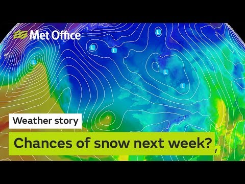 Weather Story - Chances Of Snow Next Week?