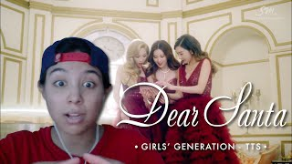 Girls' Generation-TTS (소녀시대-태티서) - Dear Santa (Korean ver.) [MV] (Video Reaction by Cassie)