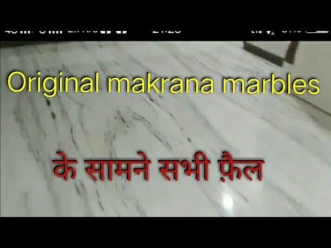 Makrana white marble flooring design.withDIAMOND POLISH counter tops,