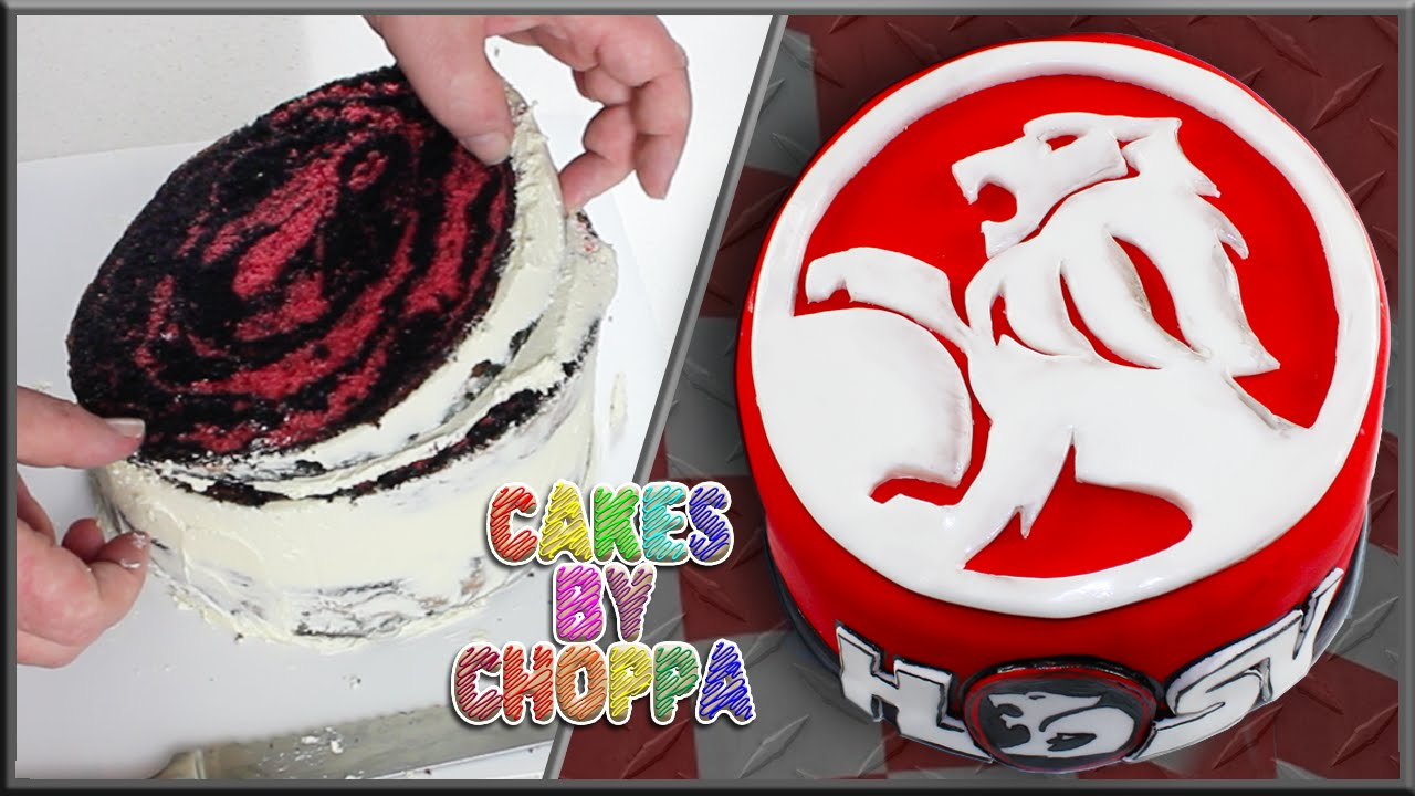 holden hsv logo cake how to