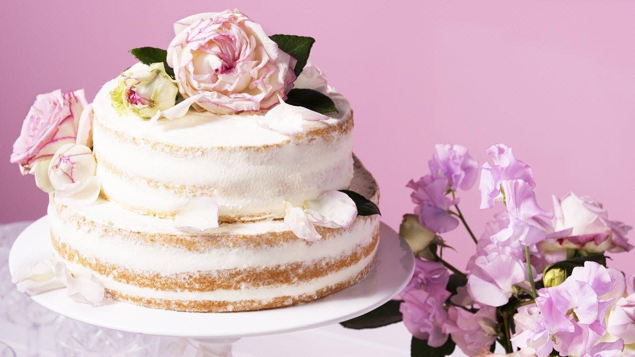Rezept Naked Cake Hochzeitstorte Von Dr Oetker Youtube