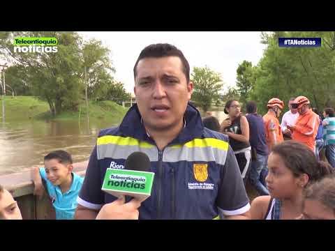 Autoridades piden estar atentos en Rionegro por rebose del embalse del río Negro