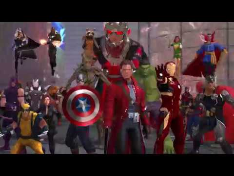 Marvel Heroes Omega - PlayStation 4 Closed Beta Launch Trailer