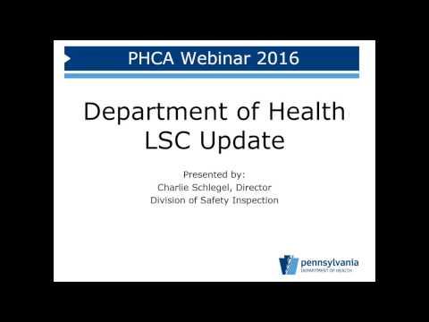 Emergency Preparedness & Life Safety Code Update