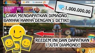 AUTO SULTAN!! CARA DAPAT 1 JUTA DIAMOND HANYA DALAM 1 KALI KLIK SAJA!! (Free Fire Game)