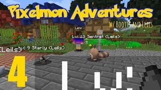 [Minecraft] PIXELMON ADVENTURES w/ Bootts and Leils! (p4)