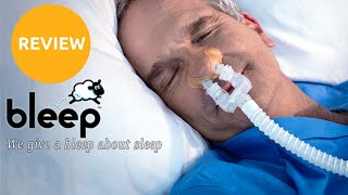 Bleep DreamPort CPAP Mask Review: A Strapless CPAP Mask
