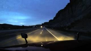 Kierowca w USA Bonus - Wyoming z muzyka w tle