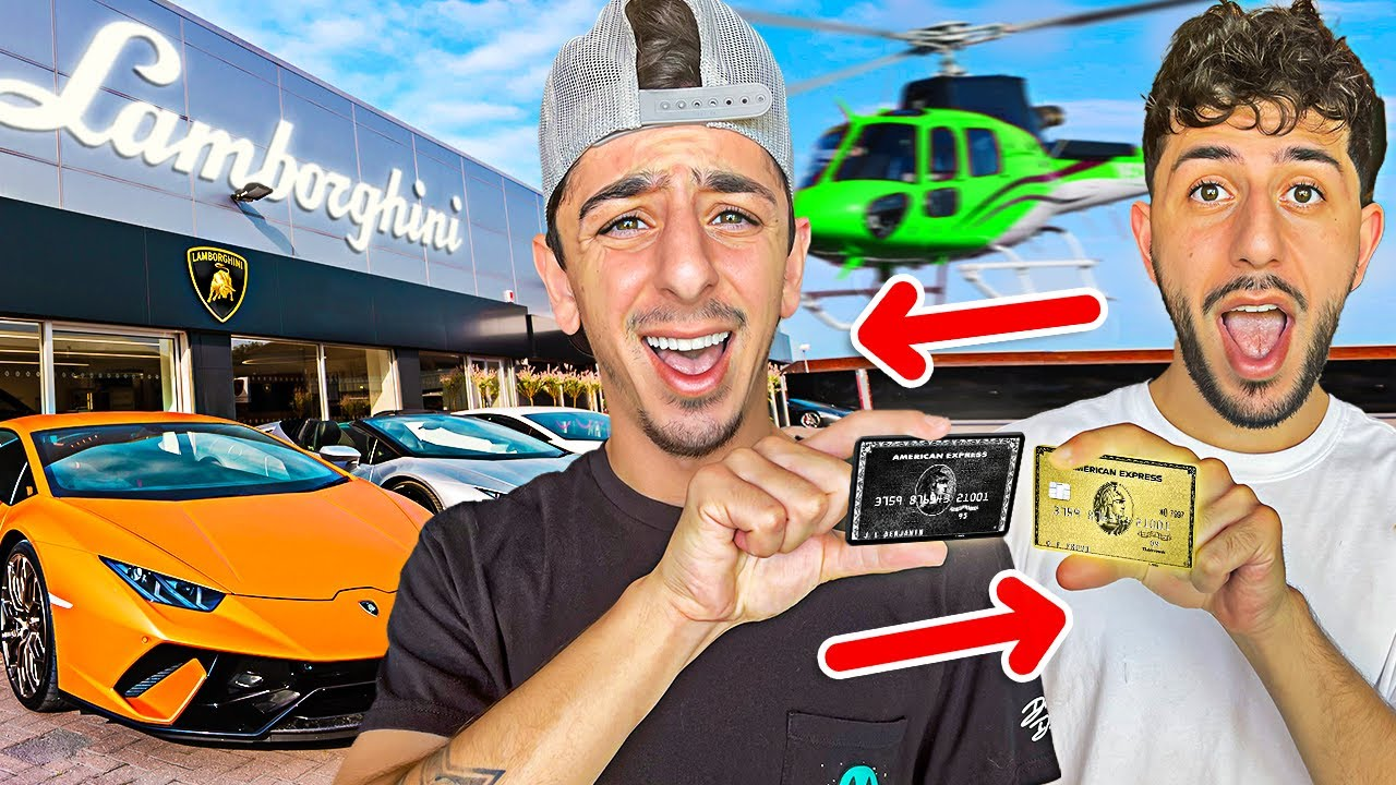 Faze Rug: Swapping Credit Cards with my Brother! [No Limit]