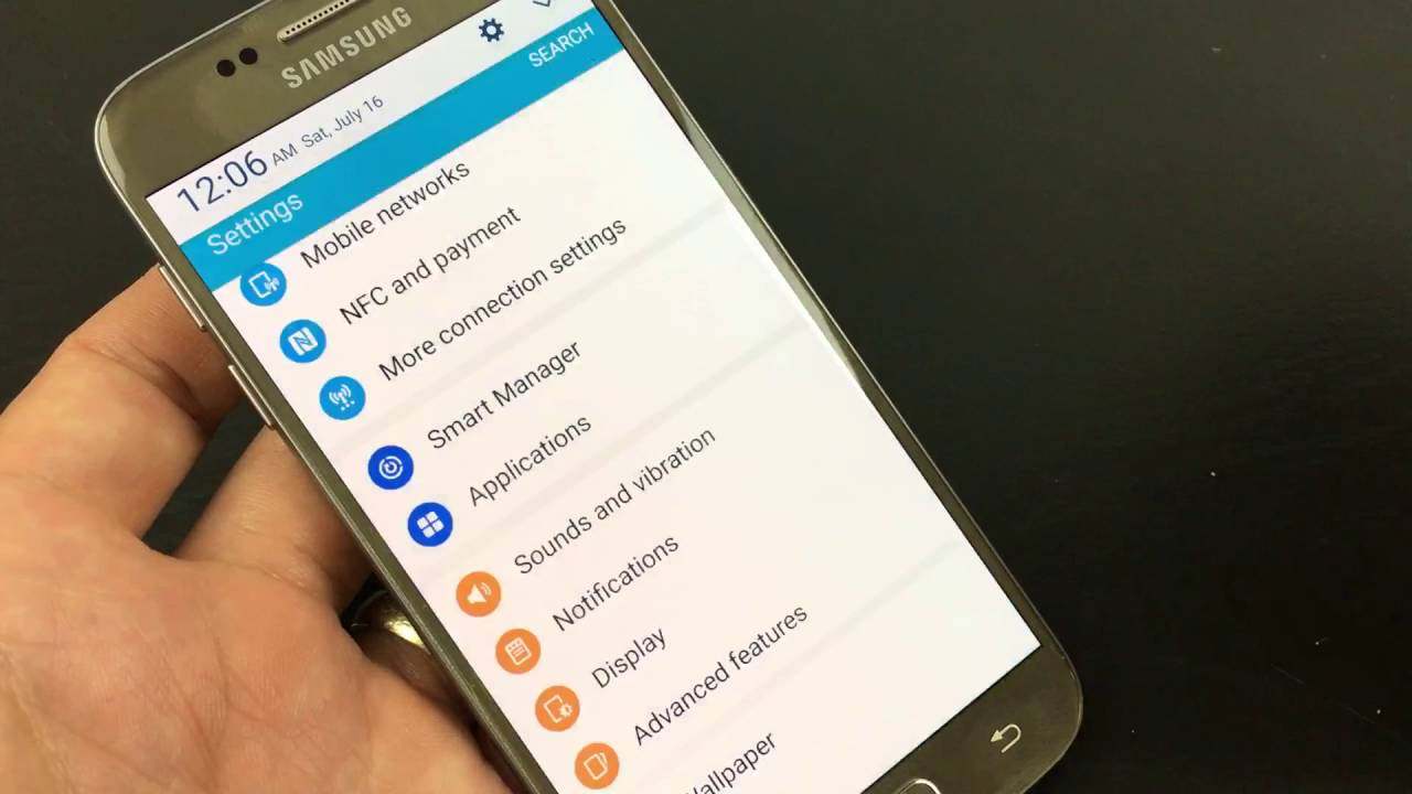 how to install ringtone on samsung s7