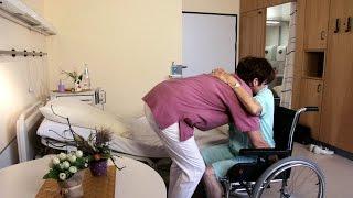 PfiFf – Anleitung zur Unterstützung der Mobilität und zum Umsetzen eines Pflegebedürftigen