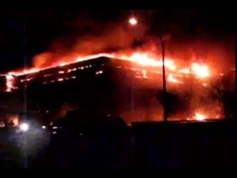 Pere-Marquette [School Burning]