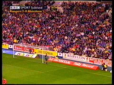 Rangers 3 v 0 Aberdeen Sept 11th 1999