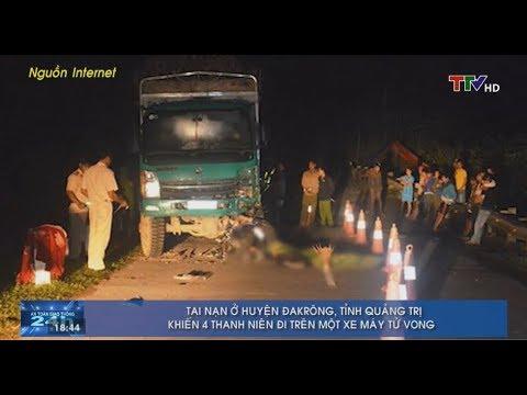 Tai Nạn ở Huyện Đakrông, Quảng Trị Khiến 4 Thanh Niên đi Trên 1 Xe Máy Tử Vong