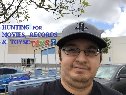 MOVIE, RECORD & TOY HUNTING @ TOYS R US HOBBY LOBBY RESALE SHOP
