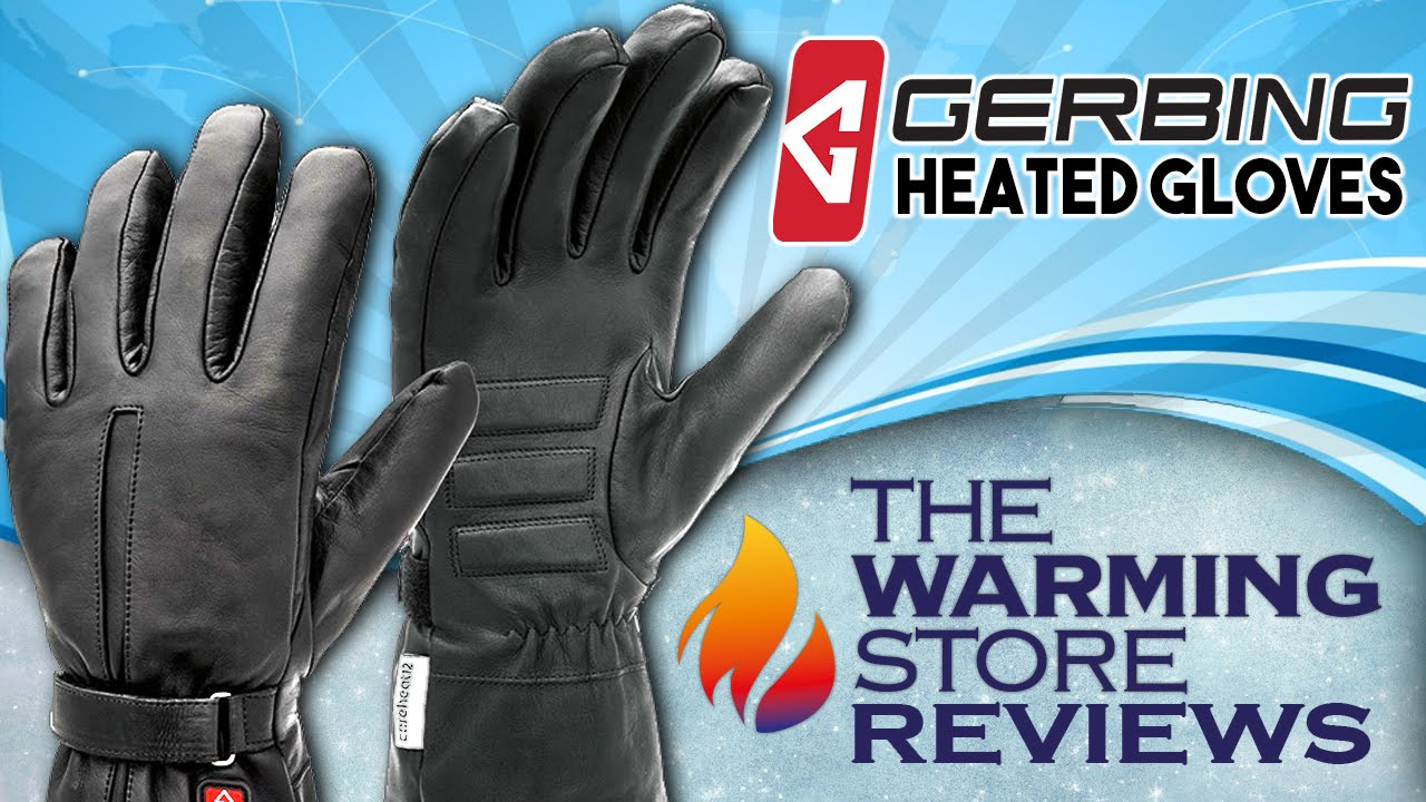 Gerbing Heated Motorcycle Glove Reviews Youtube