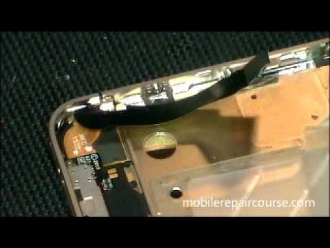 iphone 4G Broken Glass digitizer Screen disassembly Tampa Florida  part 3