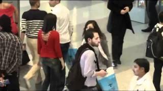 Beirut Duty Free Rocks Airport with Dabke Dance | دبكة في سوق بيروت الحرة