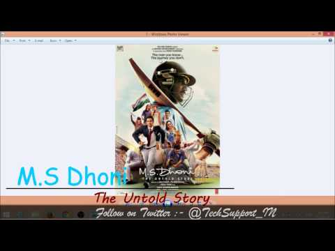 MS Dhoni The Untold Story | Full Movie...