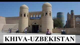 Uzbekistan/Beautiful Khiva City Walls Part 2
