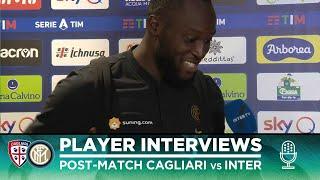 CAGLIARI 1-2 INTER | ROMELU LUKAKU + LAUTARO MARTINEZ + MILAN SKRINIAR INTERVIEWS [SUB ENG]