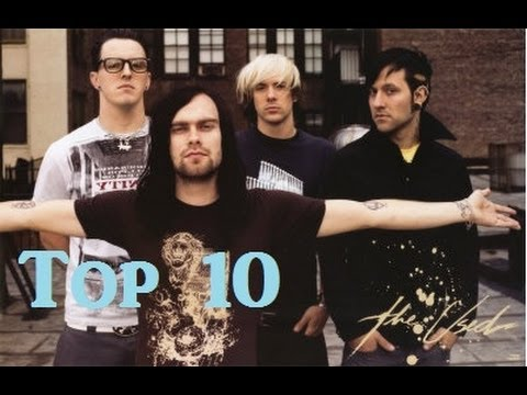 Top 10 The Used songs