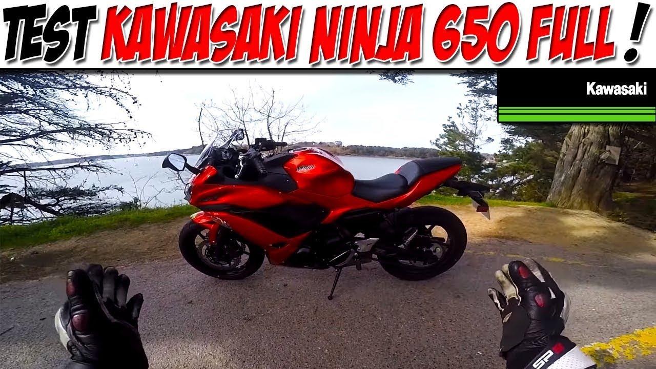 Moto Vlog 86 Test Kawasaki Ninja 650 Full Kalipso Tu Valides