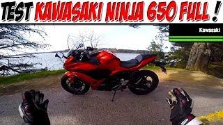 #Moto Vlog 125 : TEST KAWASAKI NINJA 650 FULL / KALIPSO EN VRAI tu valides ?