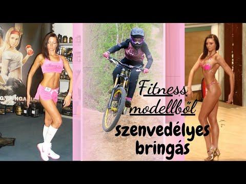Fitness modellből szenvedélyes bringás