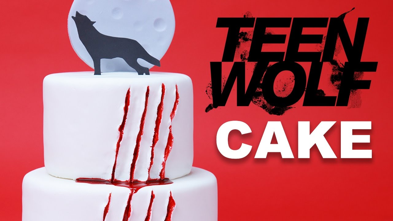 Teen Wolf Cake Nerdy Nummies Youtube