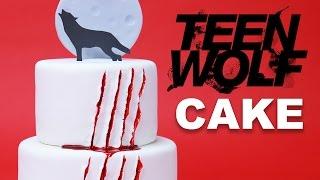 Teen Wolf Cake Nerdy Nummies