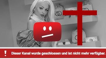 YouTube löscht Katja Krasavice's Kanal.