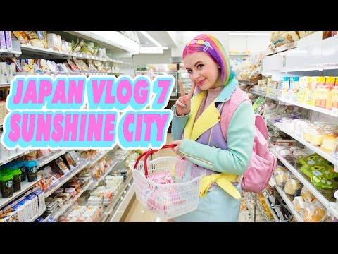 ♡ SUNSHINE CITY & MILKY WAY CAFE! | JAPAN VLOG 7 ♡
