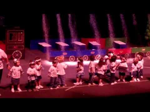 Polar Express Parents Participacion Pre School Xmas Show At Univision Theather December 14, 202