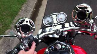 05 Kawasaki Mean Streak with on-board Shark Audio Stereo