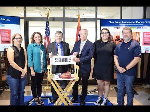 MTSU unveils online First Amendment Encyclopedia
