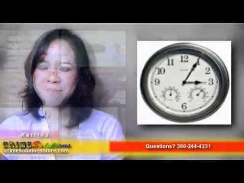 2.4GHz Wireless B/W Wall Clock Camera w/ Humidity & Temp Review