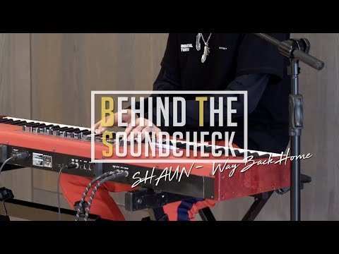 SHAUN 숀 - BTS Behind The SoundCheck   about Military Inspiration   6Cast